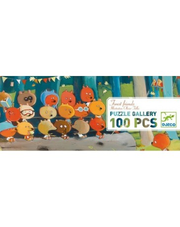 FOREST FRIENDS - PUZZLE GALLERY - DJECO