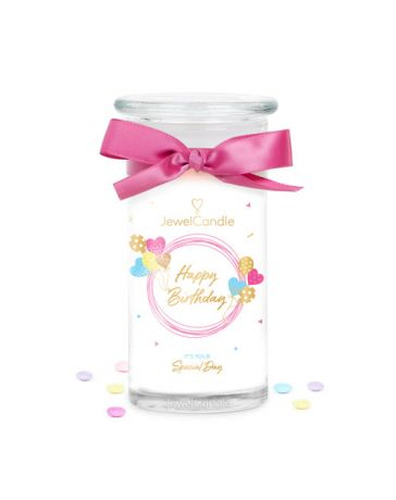 Jewel candle - HAPPY BIRTHDAY - JEWEL CANDLE