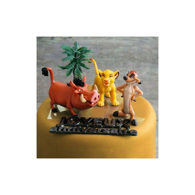 Kit de décoration gâteau - LE ROI LION - PATISDECOR