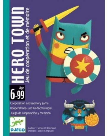 HERO TOWN - JEU DE CARTES - DJECO