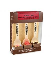 Coffret 3 Hot Chocolate - Kid's - LE COMPTOIR DE MATHILDE