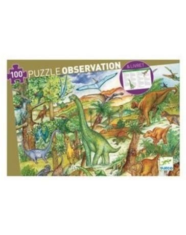 DINOSAURES - PUZZLE D'OBSERVATION - DJECO