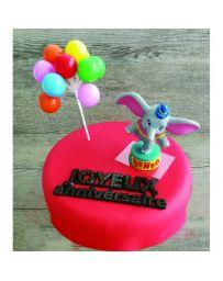 Kit de décoration pour gâteau - DUMBO - PATISDECOR