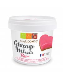 Glaçage miroir - ROSE -220g - SCRAPCOOKING
