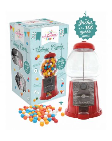 """Distributeur de bonbons """"Vintage Candy"""" - SCRAPCOOKING"""