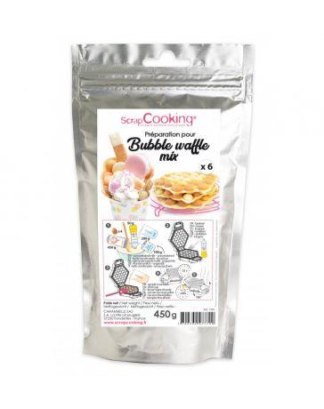 Préparation pour Bubble waffles - SCRAPCOOKING