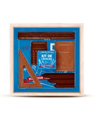 Kit de l'écolier en chocolat - LE COMPTOIR DE MATHILDE