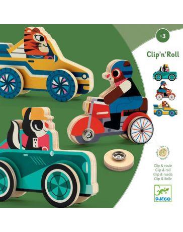 Clip'N'Roll - Jeu de Manipulation - DJECO