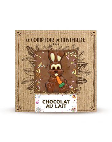 Tablette de chocolat au lait - Edition Printemps - LE COMPTOIR DE MATHILDE