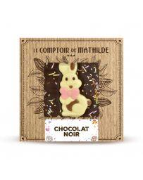 Tablette de chocolat noir - Edition Printemps - LE COMPTOIR DE MATHILDE