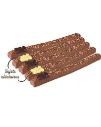 Guimauve enrobée de chocolat au lait - Edition Printemps - LE COMPTOIR DE MATHILDE