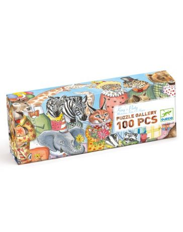 KING'S PARTY - PUZZLE GALLERY - DJECO
