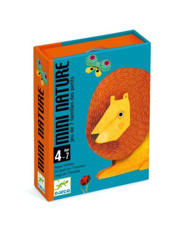 MINI NATURE - JEU DE CARTES - DJECO