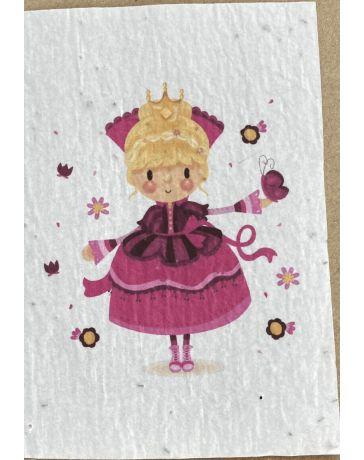 Carte à planter - Princesse - LES CARTES DE LULU