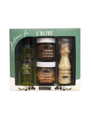 """Coffret """"Autour de l'Olive"""" - SAVOR CREATIONS"""