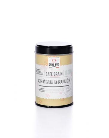 CAFE EN GRAIN AROMATISE CREME BRULEE - QUAI SUD