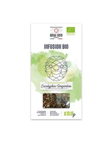 Infusion BIO Eucalyptus & Gingembre - Boîte carton 125g - QUAI SUD