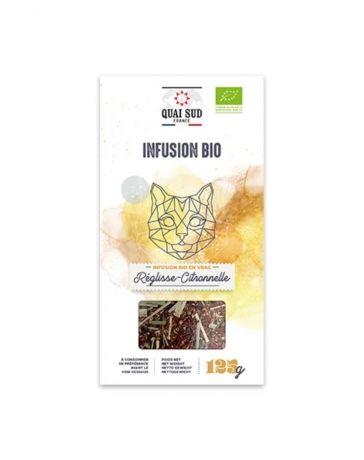 Infusion BIO Réglisse & Citronnelle - Boîte carton 125g - QUAI SUD