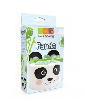 Kit de décoration en azyme - Panda - SCRAPCOOKING