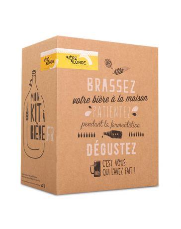 Kit complet de Brassage Artisanal - Bière blonde 5L - MON KIT À BIERE