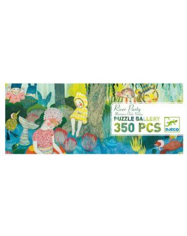 RIVER PARTY - Puzzle Gallery 350 Pièces - DJECO