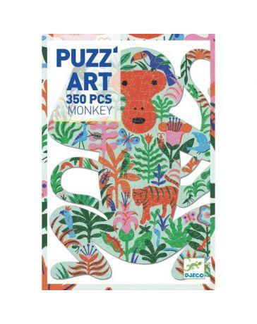 MONKEY - PUZZ'ART 350 Pièces - DJECO