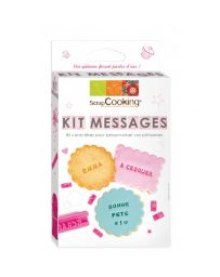Kit Messages - SCRAPCOOKING