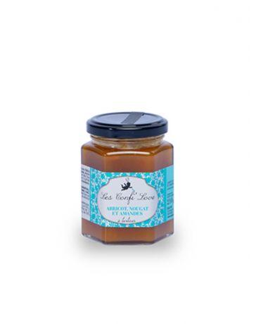 Confiture Abricot, Nougat & Amandes - Les Confi'Love