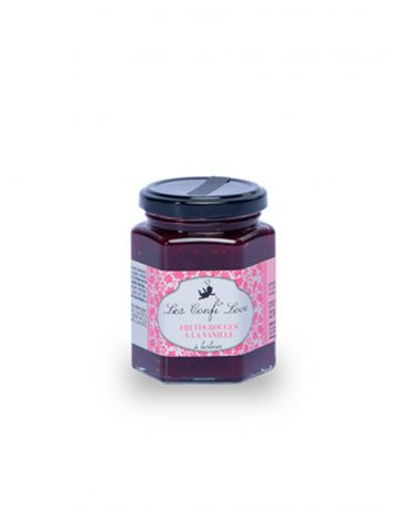Confiture Fruits rouges à la Vanille - Les Confi'Love
