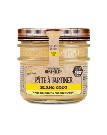 Pâte à tartiner - Blanc Coco - 250g - LE COMPTOIR DE MATHILDE