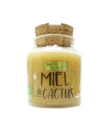 Miel BIO de Cactus - 160g - SAVOR CREATIONS