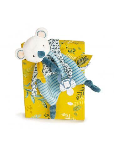 Yoca le Koala - Doudou Attache-sucette Koala - DOUDOU & COMPAGNIE