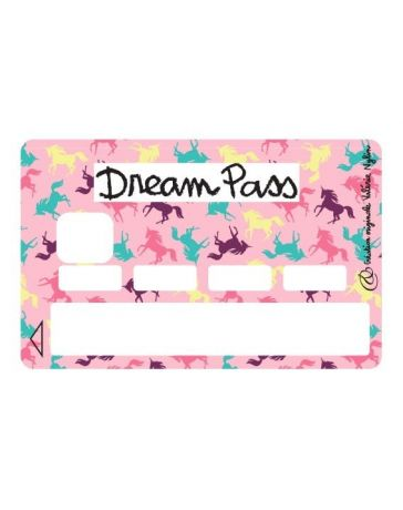 Sticker Carte Bancaire - Dream Pass