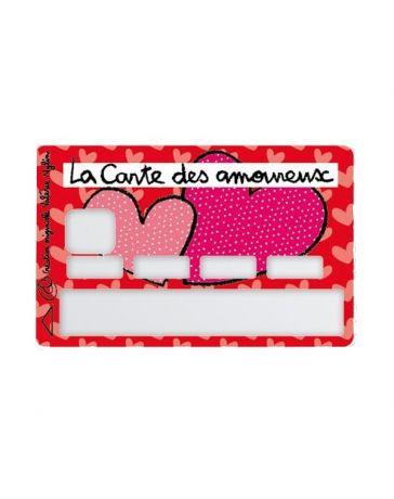 Sticker Carte Bancaire - La Carte des Amoureux