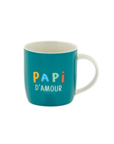 Mug LEMAN (+boîte) Papi d'amour - DERRIERE LA PORTE