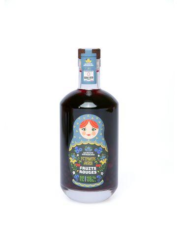 LA PETITE MATRIOCHKA - BOISSON SPIRITUEUSE à base de vodka + FRUITS ROUGES - QUAI SUD