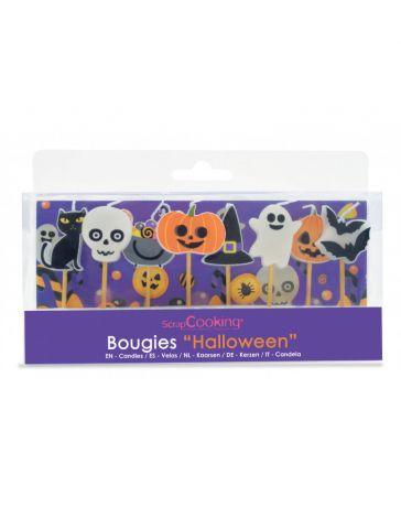 8 Bougies Halloween - SCRAPCOOKING
