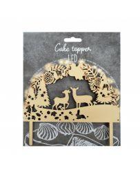 """Cake Topper LED """"Forêt enchantée"""" - SCRAPCOOKING"""