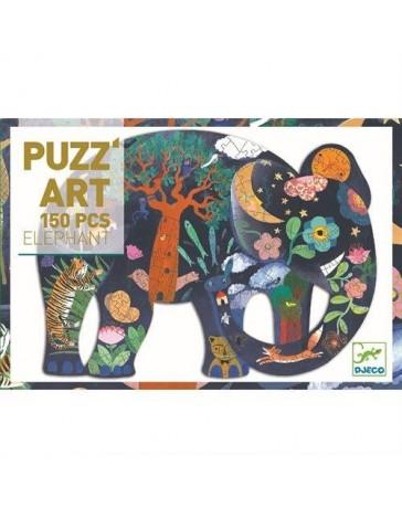 ELEPHANT - PUZZ'ART - DJECO