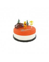 Kit de décoration gâteau - WINNIE L'OURSON - CERF DELLIER