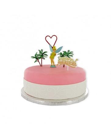 Kit de décoration gâteau - LA FEE CLOCHETTE - CERF DELLIER