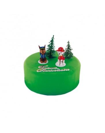 Kit de décoration gâteau - PAT PATROUILLE - CERF DELLIER