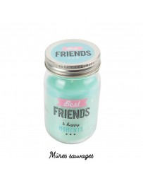 BOUGIE MASON JAR - BEST FRIEND