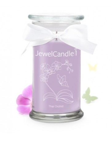 Bougie Bijou - ORCHIDEE THAI - JEWEL CANDLE