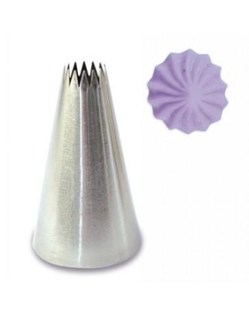 Douille INOX - CANNELEE - Diamètre 10mm - SCRAPCOOKING