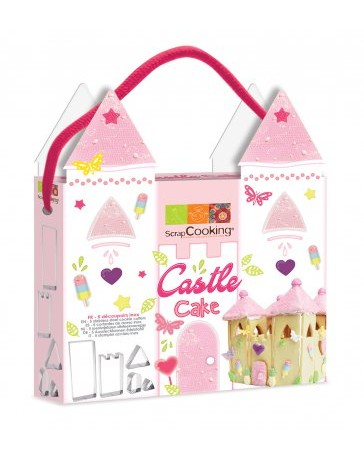 KIT DECOUPOIRS CASTLE CAKE - SCRAPCOOKING