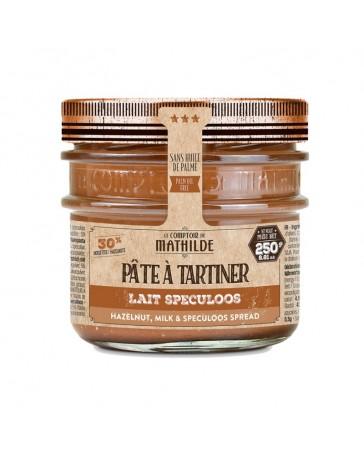Pâte à Tartiner - Lait Noisettes Spéculoos - 290g - LE COMPTOIR DE MATHILDE