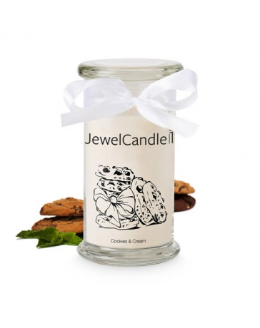 Bougie Bijou - COOKIES & CREAM - JEWEL CANDLE