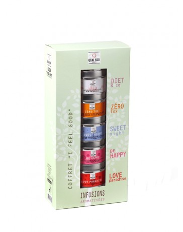 "COFFRET INFUSIONS ""I FEEL GOOD"" - QUAI SUD"